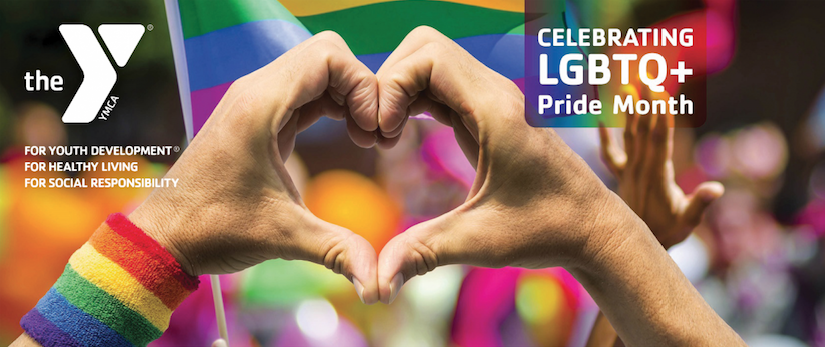 The Y supports and celebrates LGBTQIA Pride!